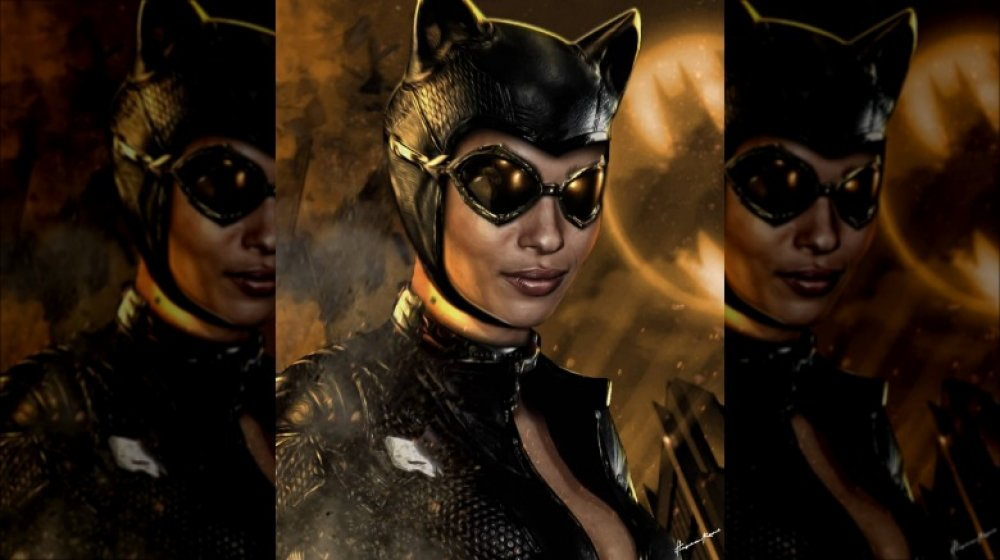 What Zoe Kravitz Could Look Like As Catwoman