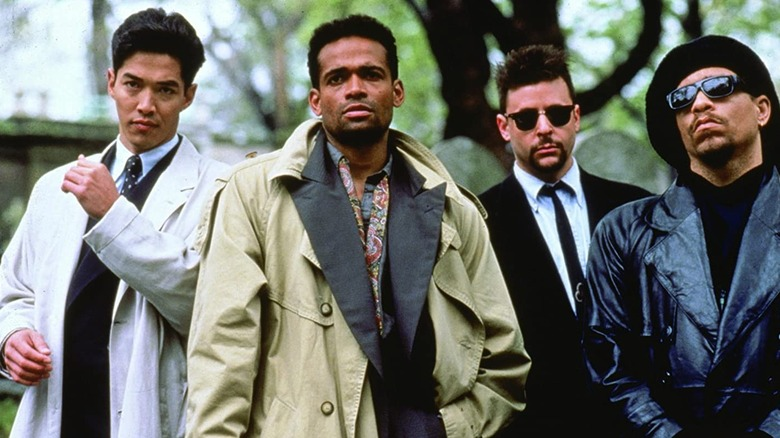 The cast of New Jack City