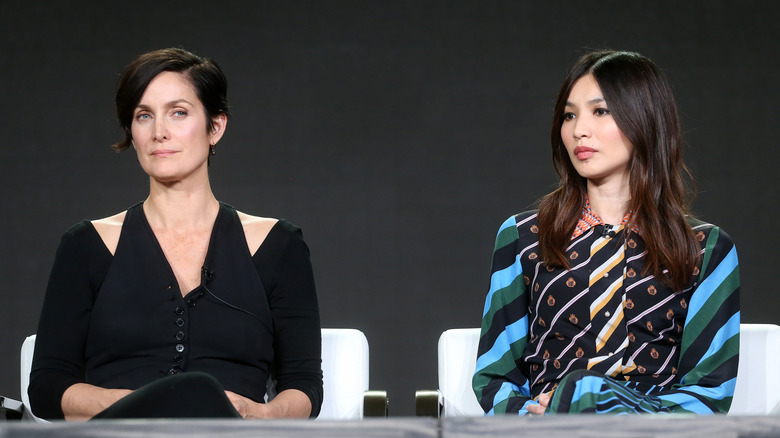 Carrie-Anne Moss and Gemma Chan