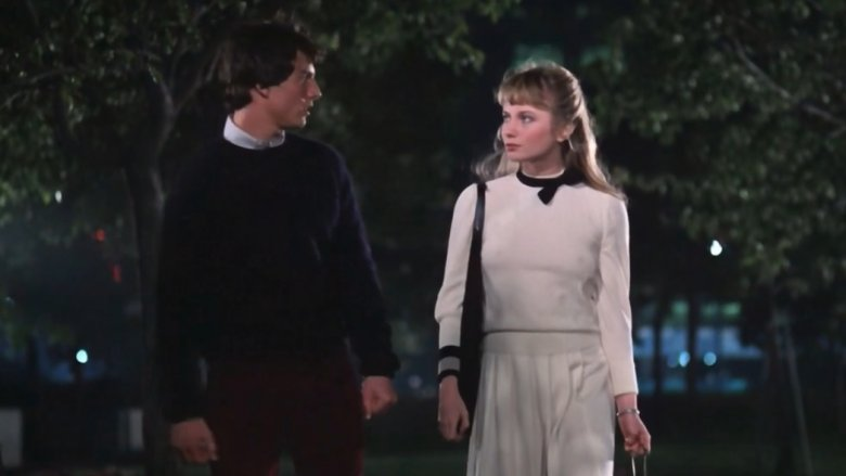 Tom Cruise and Rebecca De Mornay in Risky Business
