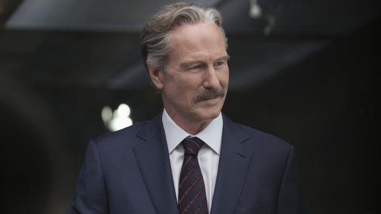 William Hurt in Captain America: Civil War