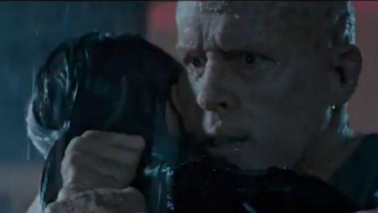 Deadpool hugging Vanessa's killer in Deadpool 2