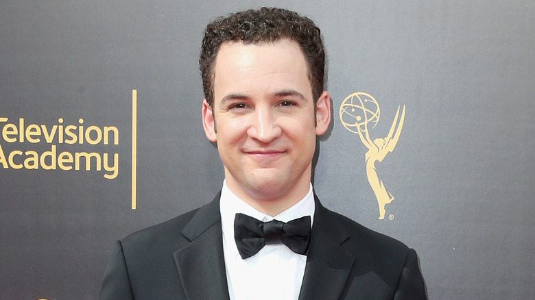 The 38-year old son of father (?) and mother(?) Ben Savage in 2019 photo. Ben Savage earned a  million dollar salary - leaving the net worth at  million in 2019