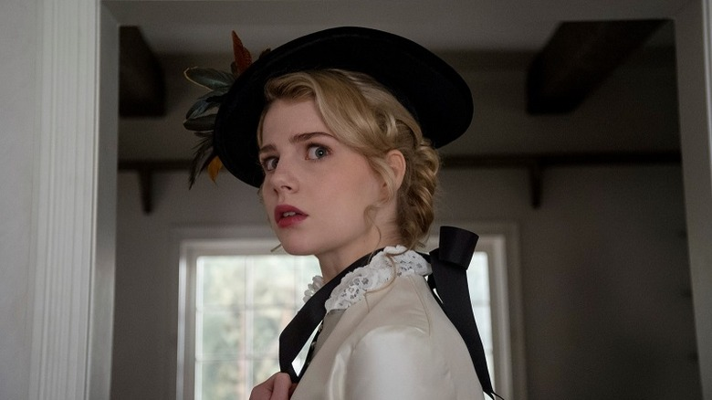 Lucy Boynton in I Am The Pretty Thing That Lives in the House