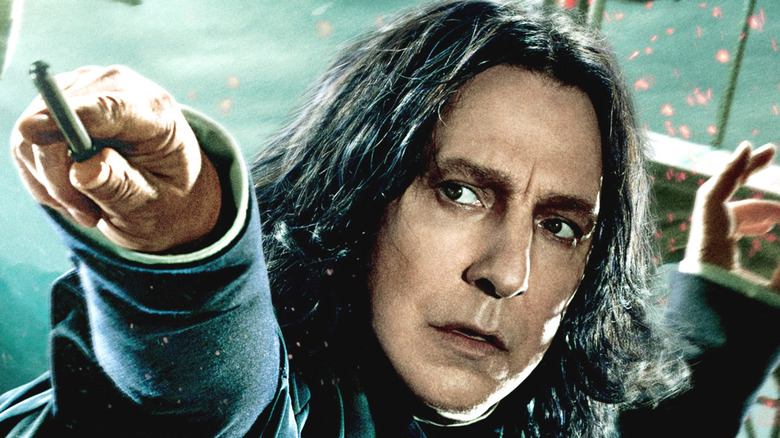 Why Snape is the best part of Harry Potter