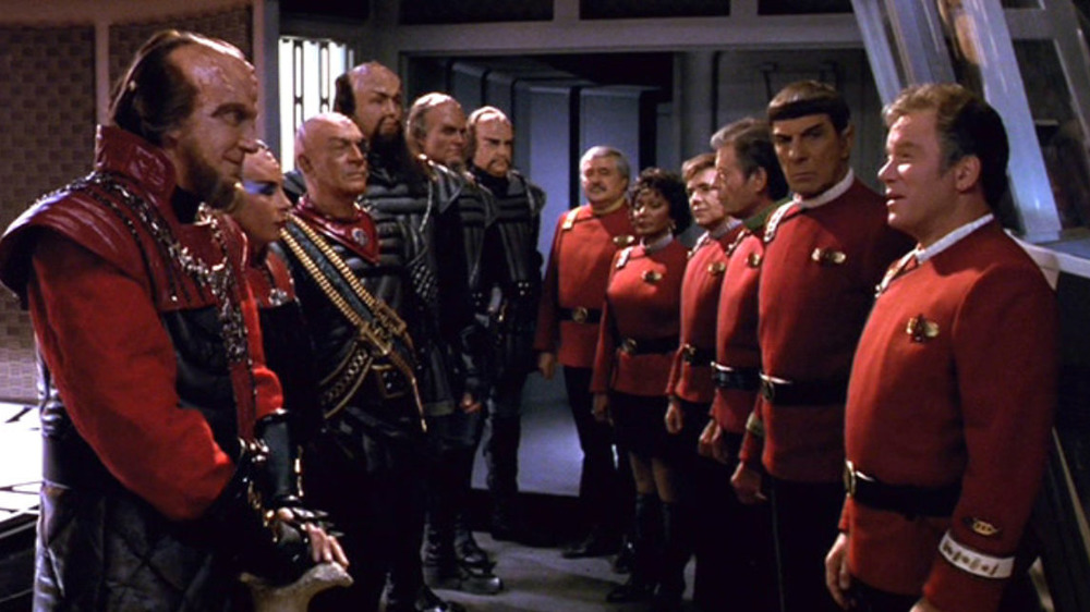 Klingons and Federation face off