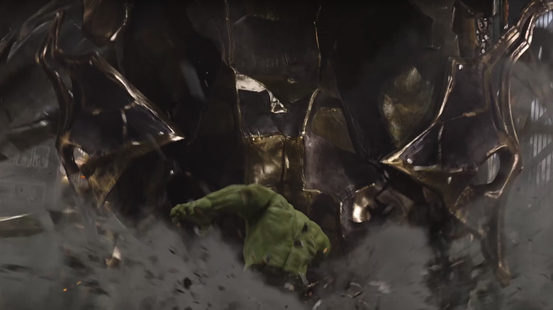 Hulk steps up to bat in the first Avengers movie