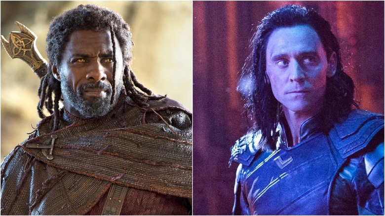 Heimdall (left) and Loki (right)