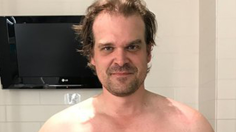 How David Harbour Got Ripped To Play Hellboy