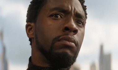 Chadwick Boseman in Avengers Infinity War